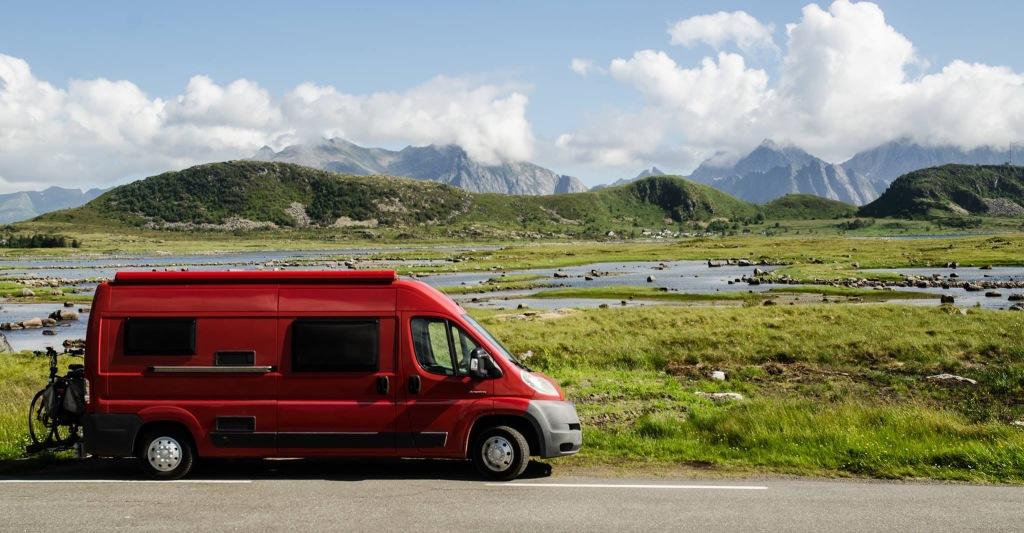 Met de camper onderweg in Noorwegen